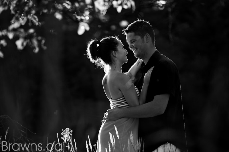 parksville engagement photos